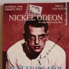 Cine: NICKEL ODEON. NÚM. (13) INVIERNO 1998.. Lote 148006278