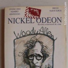 Cine: NICKEL ODEON, NUM. (28), OTOÑO 2002.. Lote 148008282