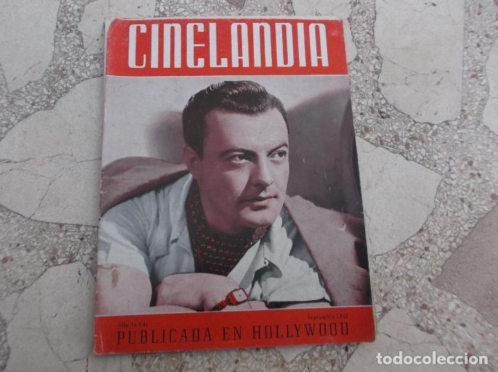 CINELANDIA TOMO XV Nº 9,ALBERTO VILA SEPTIEMBRE1941 ,FALTAN 2 HOJAS (Cine - Revistas - Cinelandia)