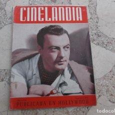 Cine: CINELANDIA TOMO XV Nº 9,ALBERTO VILA SEPTIEMBRE1941 ,FALTAN 2 HOJAS . Lote 148012762