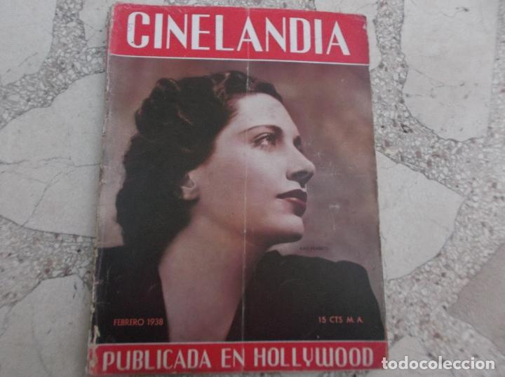 CINELANDIA TOMO XII Nº 2, KAY FRANCIS, SEPTIEMBRE1941 ,TIENE UNA FOTO PEQUEÑA RECORTADA (Cine - Revistas - Cinelandia)