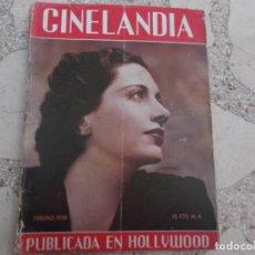 Cine: CINELANDIA TOMO XII Nº 2, KAY FRANCIS, SEPTIEMBRE1941 ,TIENE UNA FOTO PEQUEÑA RECORTADA. Lote 148013338