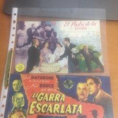 Cine: PROGRAMA DE CINE AÑO 1946. Lote 148080026