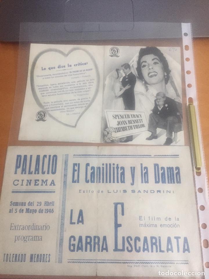 Cine: programa de cine año 1946 - Foto 2 - 148080026