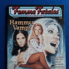 Cine: FEMME FATALES # 4/5 SPECIAL DOBLE ISSUE: HAMMER VAMPS. Lote 148150434