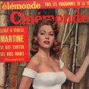 Cine: CINÉMONDE Nº 1253 - 14 AGOSTO 1958. Lote 148171566