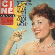 Cine: CINÉ REVUE Nº 39 - 27 SEPTIEMBRE 1957. Lote 148172518