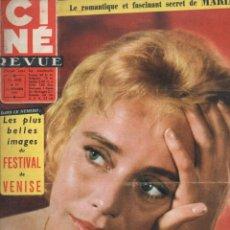 Cine: CINÉ REVUE Nº 37 - 13 SEPTIEMBRE 1957. Lote 148172926