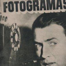Cine: FOTOGRAMAS Nº 54 - 1 FEBRERO 1949 - RITA HAYWORTH. Lote 148173634