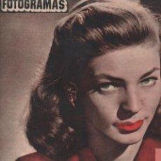 Cine: FOTOGRAMAS Nº 171 - 22 FEBRERO 1952 - LAUREN BACALL. Lote 148174014