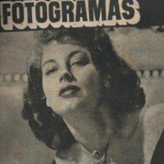 Cine: FOTOGRAMAS Nº 63 - 15 JUNIO 1949 - AVA GARDNER. Lote 148174174