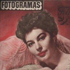 Cine: FOTOGRAMAS Nº 163 - 28 DICIEMBRE 1951 - AVA GARDNER. Lote 148174358