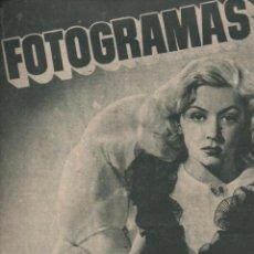 Cine: FOTOGRAMAS Nº 58 - 1 ABRIL 1949. Lote 148174430