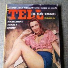 Cine: MARILYN MONROE TELL 1953. Lote 148280526