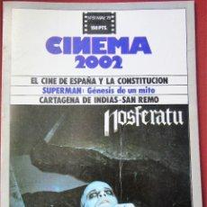 Cine: CINEMA 2002 NÚMERO 51. Lote 148380974