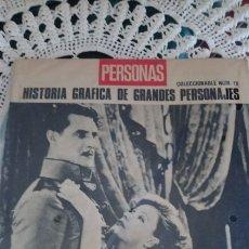Cine: PERSONAS GRANDES PERSONAGES GRETA GARBO N 18. Lote 148436324