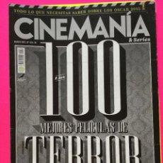 Cine: CINEMANIA ESPECIAL CINE DE TERRROR. Lote 148445490