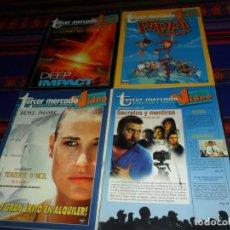 Cine: TERCER MERCADO VIDEO NºS 29 41 42 47 ALQUILER Y VENTA. AÑO 1997. BUEN ESTADO Y RARAS.. Lote 148808978