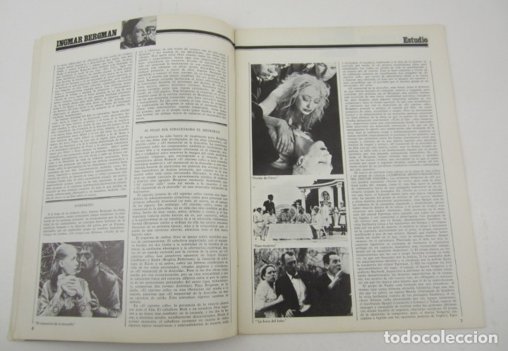 Cine: Revista Dirigido por... Ingmar Bergman, núm. 29, 1976, enero. 30x22cm - Foto 2 - 149027934