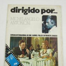 Cine: REVISTA DIRIGIDO POR... MICHELANGELO ANTONIONI, NÚM. 27, 1975, OCTUBRE. 30X22CM. Lote 149029838