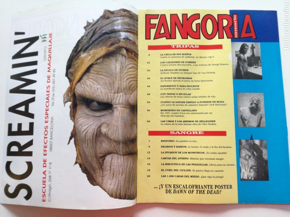 Cine: FANGORIA Nº 16 y 17 - 1992 // EL EJERCITO DE LAS TINIEBLAS SAM RAIMI EVIL DEAD 3 GORE TERROR DRACULA - Foto 3 - 149075758