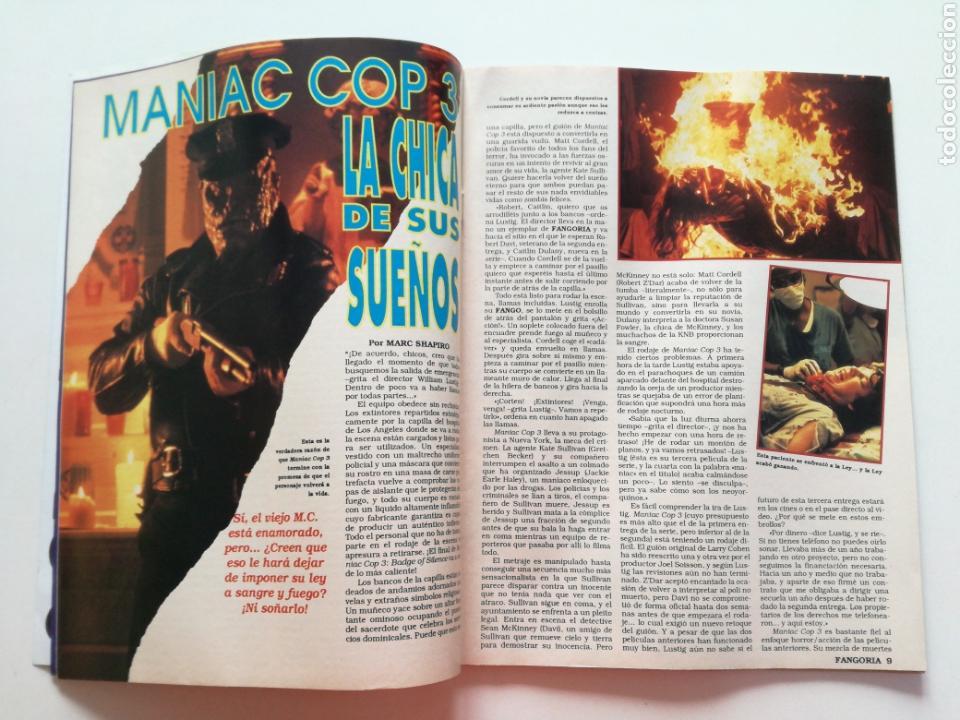 Cine: FANGORIA Nº 16 y 17 - 1992 // EL EJERCITO DE LAS TINIEBLAS SAM RAIMI EVIL DEAD 3 GORE TERROR DRACULA - Foto 6 - 149075758