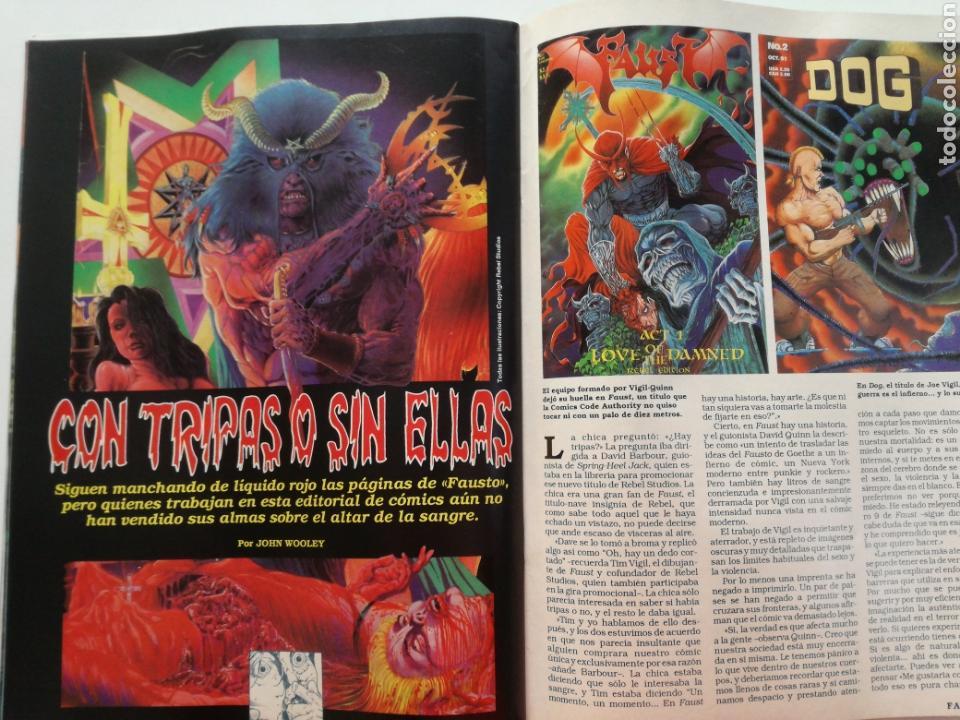Cine: FANGORIA Nº 16 y 17 - 1992 // EL EJERCITO DE LAS TINIEBLAS SAM RAIMI EVIL DEAD 3 GORE TERROR DRACULA - Foto 7 - 149075758