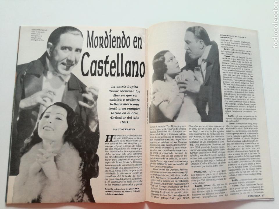 Cine: FANGORIA Nº 16 y 17 - 1992 // EL EJERCITO DE LAS TINIEBLAS SAM RAIMI EVIL DEAD 3 GORE TERROR DRACULA - Foto 8 - 149075758