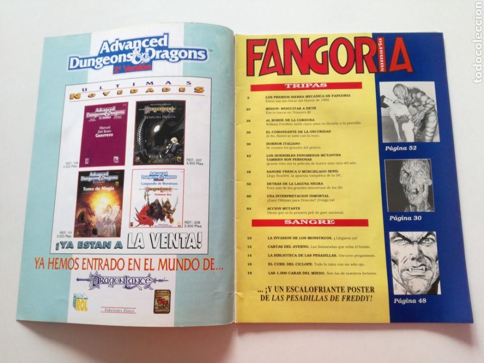 Cine: FANGORIA Nº 16 y 17 - 1992 // EL EJERCITO DE LAS TINIEBLAS SAM RAIMI EVIL DEAD 3 GORE TERROR DRACULA - Foto 11 - 149075758