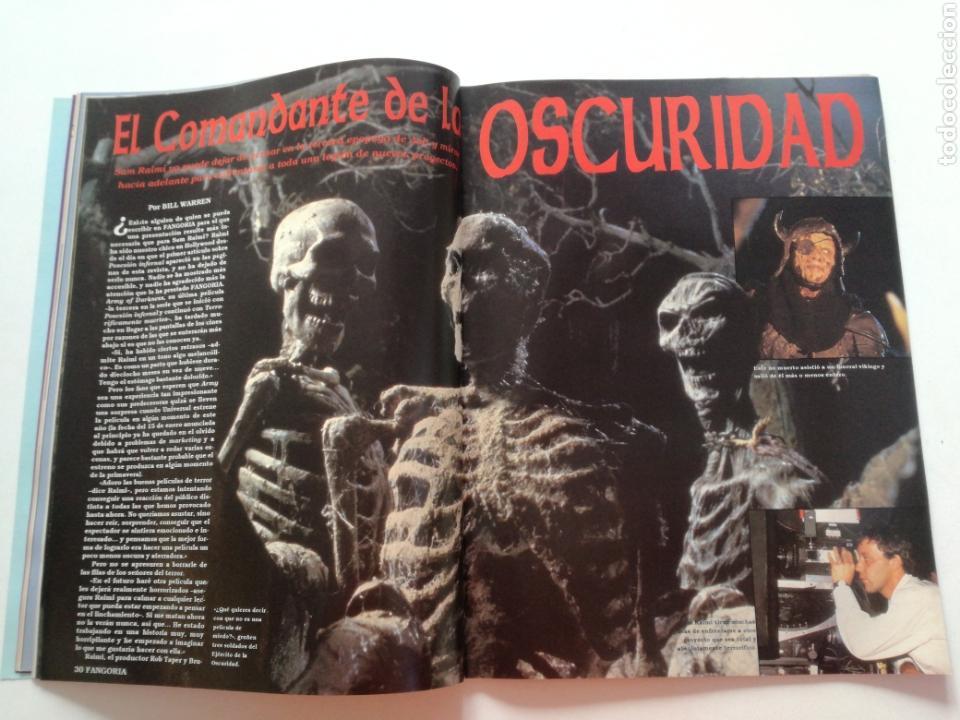 Cine: FANGORIA Nº 16 y 17 - 1992 // EL EJERCITO DE LAS TINIEBLAS SAM RAIMI EVIL DEAD 3 GORE TERROR DRACULA - Foto 15 - 149075758