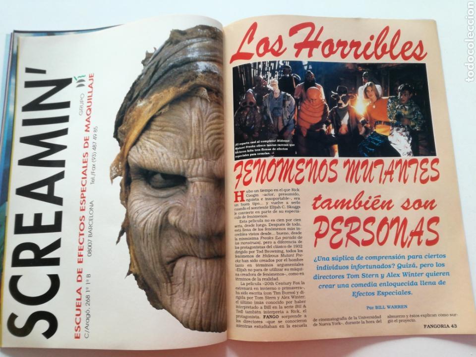 Cine: FANGORIA Nº 16 y 17 - 1992 // EL EJERCITO DE LAS TINIEBLAS SAM RAIMI EVIL DEAD 3 GORE TERROR DRACULA - Foto 17 - 149075758