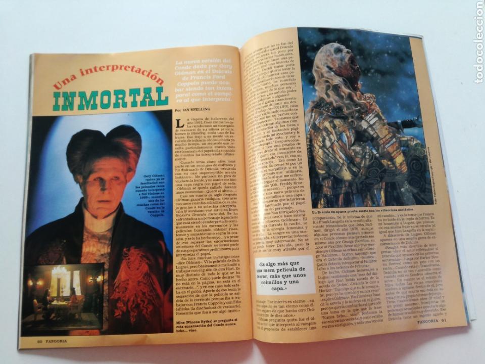 Cine: FANGORIA Nº 16 y 17 - 1992 // EL EJERCITO DE LAS TINIEBLAS SAM RAIMI EVIL DEAD 3 GORE TERROR DRACULA - Foto 19 - 149075758