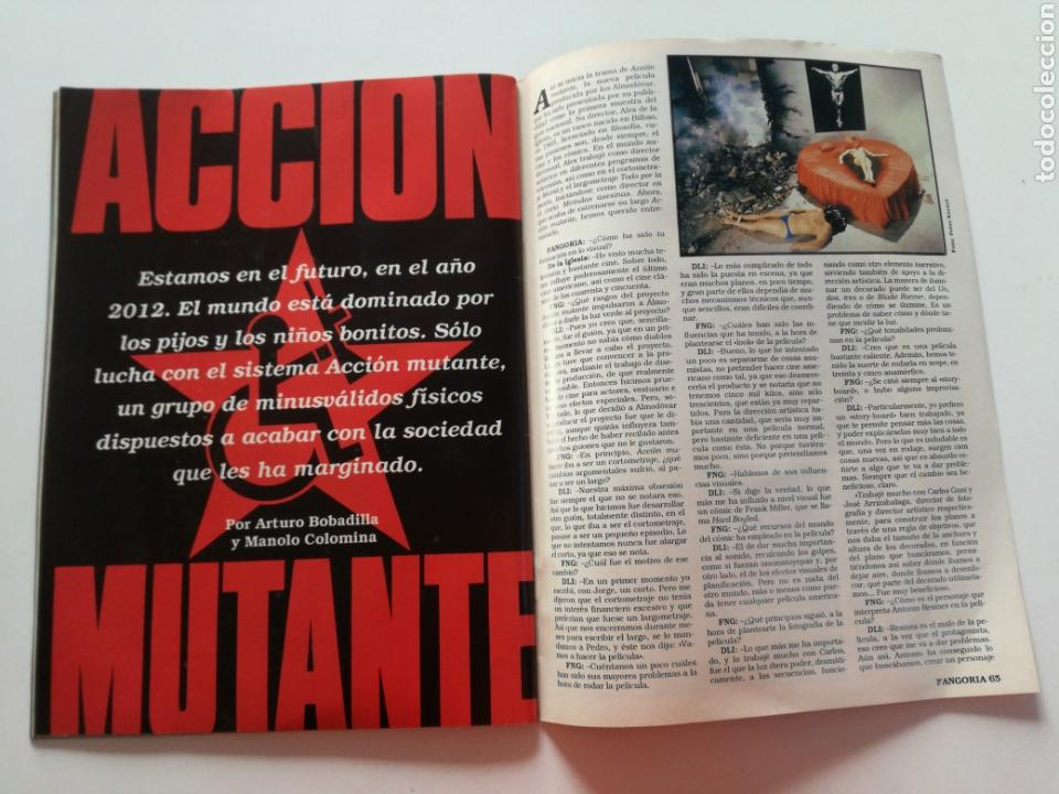 Cine: FANGORIA Nº 16 y 17 - 1992 // EL EJERCITO DE LAS TINIEBLAS SAM RAIMI EVIL DEAD 3 GORE TERROR DRACULA - Foto 20 - 149075758