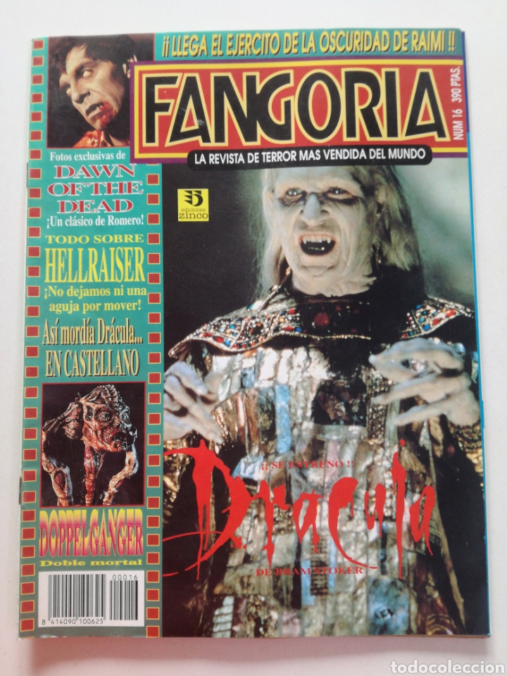 Cine: FANGORIA Nº 16 y 17 - 1992 // EL EJERCITO DE LAS TINIEBLAS SAM RAIMI EVIL DEAD 3 GORE TERROR DRACULA - Foto 2 - 149075758