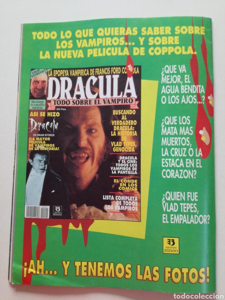 Cine: FANGORIA Nº 16 y 17 - 1992 // EL EJERCITO DE LAS TINIEBLAS SAM RAIMI EVIL DEAD 3 GORE TERROR DRACULA - Foto 9 - 149075758