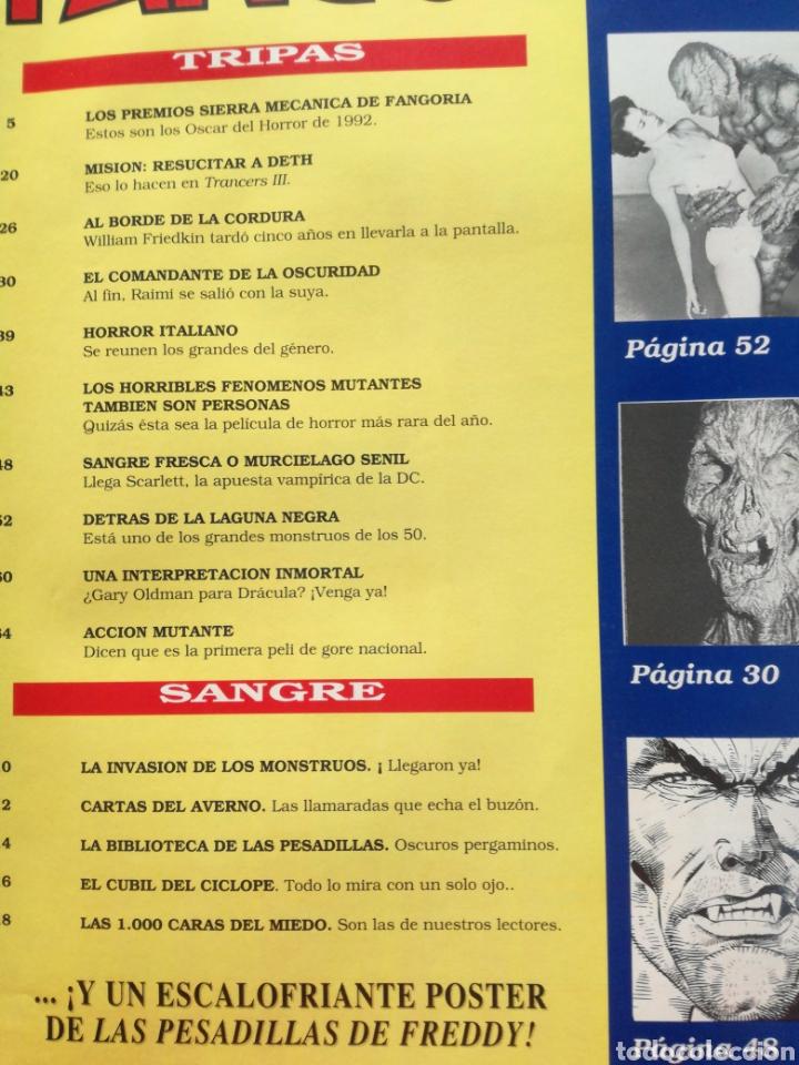 Cine: FANGORIA Nº 16 y 17 - 1992 // EL EJERCITO DE LAS TINIEBLAS SAM RAIMI EVIL DEAD 3 GORE TERROR DRACULA - Foto 13 - 149075758