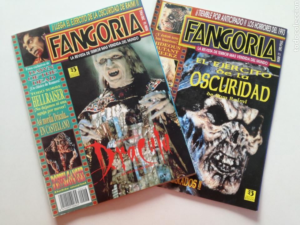 FANGORIA Nº 16 Y 17 - 1992 // EL EJERCITO DE LAS TINIEBLAS SAM RAIMI EVIL DEAD 3 GORE TERROR DRACULA (Cine - Revistas - Fangoria)