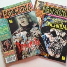 Cine: FANGORIA Nº 16 Y 17 - 1992 // EL EJERCITO DE LAS TINIEBLAS SAM RAIMI EVIL DEAD 3 GORE TERROR DRACULA. Lote 149075758