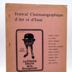 Cine: PROGRAMA. FESTIVAL CINEMATOGRAPHIQUE D'ART ET D'ESSAI. CINEMA CERETAN. EN ESPAÑOL (SIN ACREDITAR). Lote 149206850