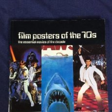 Cine: FILM POSTERS OF THE 70S LIBRO DE CARTELES POSTERS DE PELICULAS DE LOS 70 AURUM PRESS. Lote 149209702