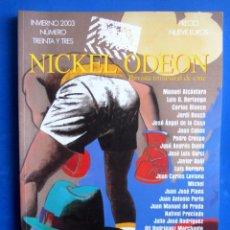 Cine: REVISTA NICKEL ODEON CINE Y DEPORTE. NUMERO 33 INVIERNO 2003. Lote 149219430
