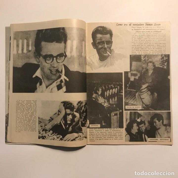 Cine: 1958 James Dean. Revista monográfica. Su vida, sus amores, sus películas, su muerte. 32 páginas - Foto 3 - 149280410