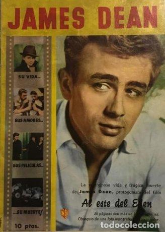 1958 James Dean. 32 páginas 17×24,4 cm