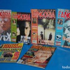 Cine: COLECCIONISMO FANGORIA -1 AL 4 (2000) + 2 ESPECIALES (TERROR + FX-ZINCO). Lote 149769210