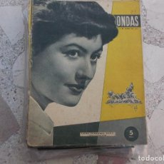 Cine: ONDAS Nº 55, PORTADA LUISA FERNANDA MARTI,GIANNA MARIA CANALE,LOLA FLORES. Lote 149961174