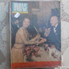Cine: ONDAS Nº 216, LA FALDA SE DETENDRA 10 CM SOBRE LA RODILLA,VICENTE PARRA,,1961. Lote 149962738