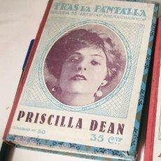 Cine: UN VOLUMEN DE LA REVISTA DE CINE TRAS LA PANTALLA CON LOS NÚMEROS DEL 41 HASTA EL 57. Lote 84898912