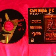 Cine: CD, DE CINEMA PC, NUMERO 3, MAGACINE. Lote 150193590