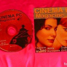 Cine: CD, DE CINEMA PC, NUMERO 13, MAGACINE. Lote 150193746