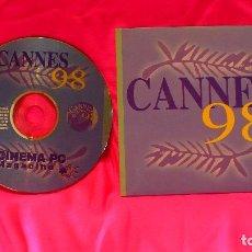 Cine: CD, DE CINEMA PC, CANNES 98, MAGACINE. Lote 150193870